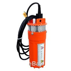 100W 18V Solar Panel with 12V Deep Well Submersible Pump Farm Ranch