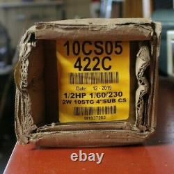 10CS05422C Goulds 10GPM 1/2 HP Submersible Water Well Pump 230V 2 Wire Free Ship