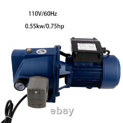 110V 550W Surface Shallow Well Jet Pumps Centrifugal Clear Clean Water Pumps US