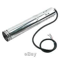 12V 180W Brushless Stainless Screw Solar Power Submersible Deep Well Water Pump