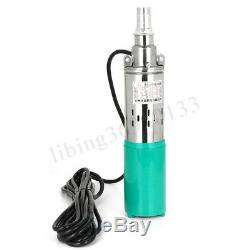 12V 3M³/H 25M Lift Max Flow Submersible Water Pump Solar Deep Well Pump Durable