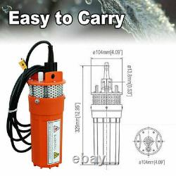 12V DC Irrigation Solar Water Pump System With Solar Panel &Controller &10M Cable