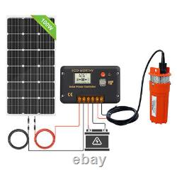 12V DC Water Pump System Kit With 120W 100W Solar Panel for Aquarium/Irrigation