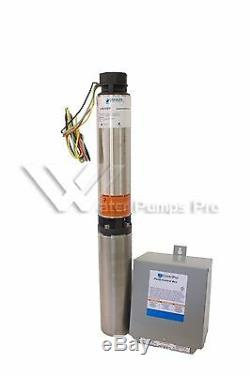 18SB07412C Goulds 18GPM 3/4HP 4 Submersible Water Well Pump & Motor 3 Wire 230V