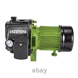 1 HP Cast Iron Shallow Well Pump Pressure Control Switch Water System Drain Well