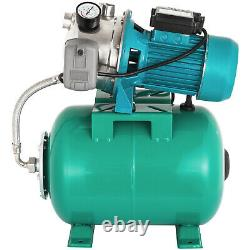 1 HP Shallow Well Jet Pump With Pressure Switch 12.3 GPM Booster Water 2800L/H
