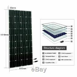 200W Solar Panel + 24V Deep Well Water Pump +Controller, Submersible Pump System