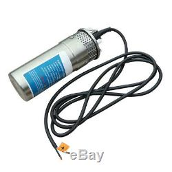 2100W Solar Panel+24V Solar Power Submersible S/Steel Water Pump+20A Controller