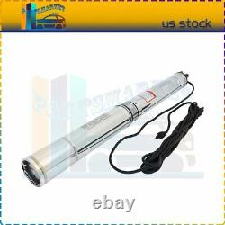 220V 2HP 440FT 42GPM Submersible Water Pump Deep Well Pump Free Shipping