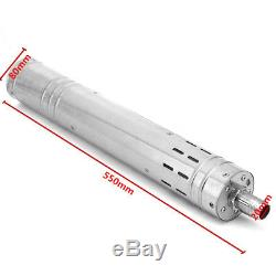 24V 2m3/h Brushless Stainless Screw Solar Power Submersible Deep Well Water Pump