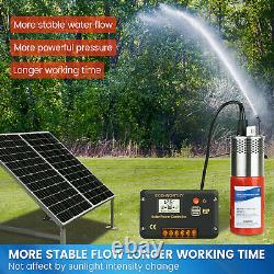 24V DC Submersible Deep Well Pump Solar Battery, Stainless steel water Pond Pump