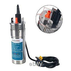 24V Submersible 3.2GPM 4 Deep Well Water Pump Alternative Energy Solar Battery