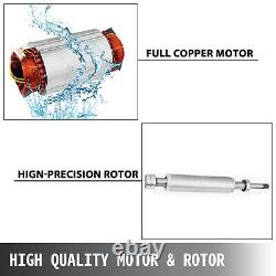 2HP Submersible Deep Well Pump 440ft 220V Max 42GPM Cable 32.8ft Stainless Steel