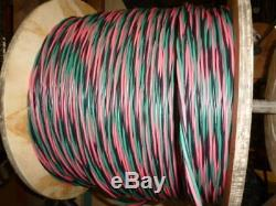 325 ft 12/2 wG Submersible Well Pump Wire Cable Solid Copper Wire