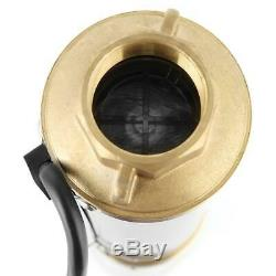 370W Deep Well Water Pump 4000L/h Submersible Stainless Steel 110V AC US Plug US