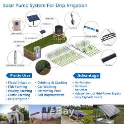 3 DC Deep Well Solar Water Pump 72V 600W Bore Hole Submersible MPPT Controller