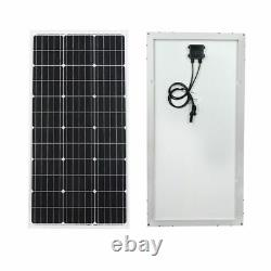 400W Mono Solar Panel +Solar Solar Surface Water Pump 24V DC MPPT Controller Kit
