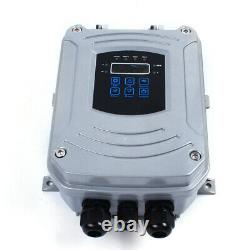 4 DC Solar Water Pump 48V 750W Submersible + MPPT Controller Deep Bore Well USA