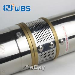 4 DC Submersible Deep Bore Well Solar Water Pump 72V 600W Irrigation Automatic