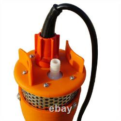 70m Lift Max Stainless Strainer Submersible 24V DC Solar Deep Well Water Pump