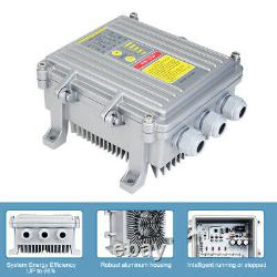 800W Solar Panel & 500W Solar Swimming Pool Filter / Spa Pump With Controller