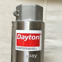 DAYTON 1LZP6 5 HP Submersible Well Pump Head Req'd Motor 12 Stages 285 ft max