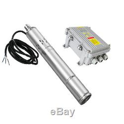 DC 24/36V Solar Screw Pump 3 Inch Deep Well Submersible Pump Stainless Steel