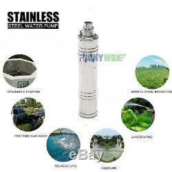 DC 48V Solar Deep Well Screw Submersible Water Pump 700W