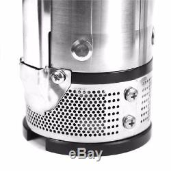 DEEP SUB WELL SUBMERSIBLE WATER PUMP 3HP 220v STAINLESS STEEL CONTROL BOX 900ft