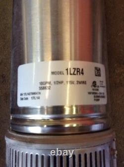 Dayton Deep Well Submersible Pump, 1LZR4 Franklin Electric