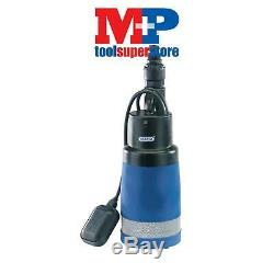 Draper 78780 90L/Min Submersible Deep Water Well Pump with Float Switch (1000W)