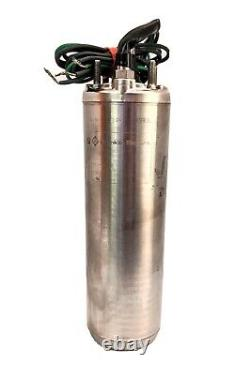 Franklin 2445089003S 4 Deep Well Submersible Pump Motor, 1 HP, 230V