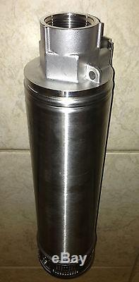 Franklin Electric 1/2 HP S. S. SUBMERSIBLE WATER WELL PUMP SS WET END (No Motor)