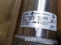 Franklin Electric FPS 4400 Tri-Seal 7FA1S4-3W230 Submersible Well Pump