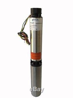 Goulds 10SB05411CL 4 Submersible Water Well Pump, 10 GPM, ½ HP, 7 Stages, 3 Wir