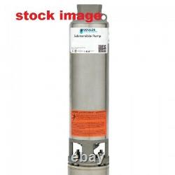 Goulds #1 7GS10412CL, 1 hp 1/60-230 volts, 3 Wire, 4 Submersible well pump