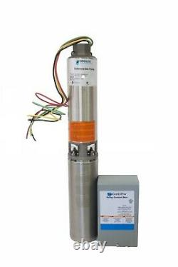 Goulds 25GPM Submersible Water Well Pump, Motor & CB 2HP 25CS20412C 1 Phase 230V