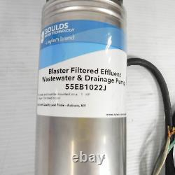 Goulds 4 Filtered Submersible Well Pump 55EB1022J 1HP 60Hz 230V 4 Stage 78GPM