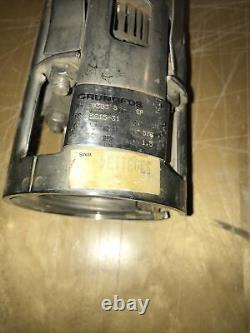 Grundfos Submersible Well Pump Type 9303, MPN 5615-31, 5 GPM, 578 ft, 1.5 HP