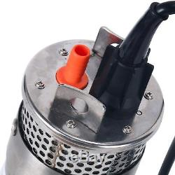 High Quality 24V Stainless Shell Submersible 3.2GPM 4 Deep Well Water DC Pump