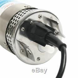 High Quality Solar Powered Deep Well Water Pump Submersible DC24V for Irrigation