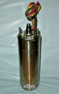 NEW Franklin 4 Deep Well Submersible Motor 3/4 HP 230v 1ph 3 Wire 2145079004G