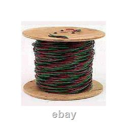 NEW SOUTHWIRE 12/2 X 500 FOOT ROLL SUBMERSIBLE PUMP WIRE CABLE With GROUND 7599095