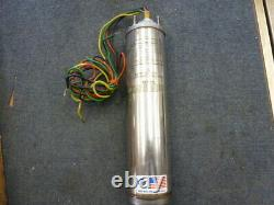 NOS Franklin Electric Super Stainless Submersible Well Pump Motor 2 HP 1 Phase
