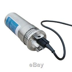 New 24V Solar Panel Deep Water Well Pump S/Steel Submersible Pump 20A Controller