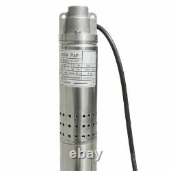 New 2 (50mm) Submersible Bore Water Pump 0.5 HP Deep Well 220V 180ft
