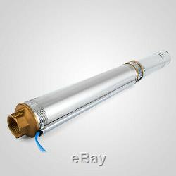 New 4 (102mm) Submersible Bore 1.5 HP Water Pump Deep Well 110V 380ft 24GPM
