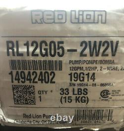 Red Lion 12 GPM 1/2 HP Deep Well Submersible Pump (2-Wire 230V). Return Item