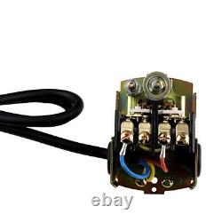 SHYLIYU Shallow Well Jet Pump Pressure Switch, 1/2HP 14GPM, Stainless Steel 110V