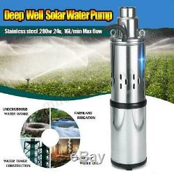 Screw Water Pump Submersible Borehole Deep Well Pump for Agriculture Irrigation